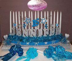 Sweet 16 Candelabra  Candle Holder Lighting Ceremony #Sweet16