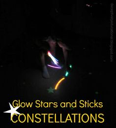Grab some glow stars and bracelets and give your kids the constellations connect-the-stars challenge. This is a wonderful hands-on way for kids to learn the most popular star formations in the night sky!
