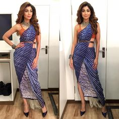 12 Saree Looks Of Shilpa Shetty That Will Surely Leave You Impressed