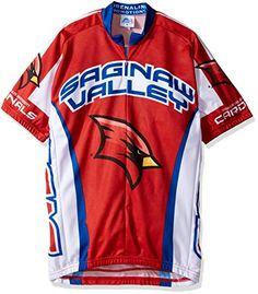 276f60f9d NCAA Saginaw Valley State University Cardinals Cycling Jersey Large Red      Visit the image link more details. Note It is affiliate link to Amazon.
