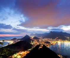 Fly high on in helicopter ride to see Rio in all its curvaceous, chaotic glory.