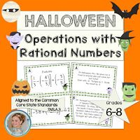 Halloween in a middle school classroom can be a nightmare.  Students are thinking about costumes, parties, and candy when you need the...