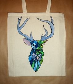 my dear deer - handmade bags