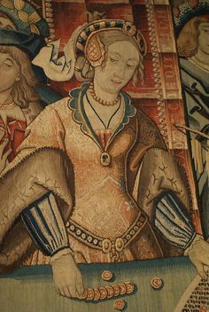 From the Cluny museum in Paris - item # CL. Medieval Wedding, Italian Renaissance, Belts For Women, 16th Century, Tapestries, Wedding Stuff, Europe, Museum, Textiles