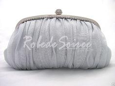Pochette Soirée-Elégant sac de soirée mode de mariage paquet d\'argent