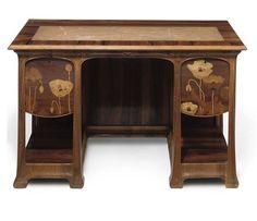 Письменный стол от Луи Мажореля, ок. 1898 года / Art Nouveau Desk by Louis Majorelle ca.1898