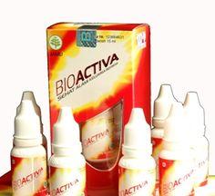 Bioactiva adalah jamu tetes yang dibuat dari bahan-bahan rempah serperti jinten, daun salam, daun salak dan lain-lainnya.