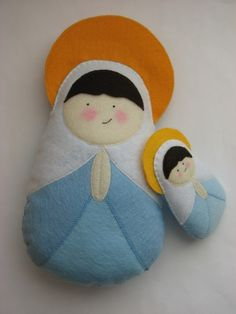 "Mary Felt Softie Large Size... $32,00. Approximate measurements are 11"" L x 6"" W."