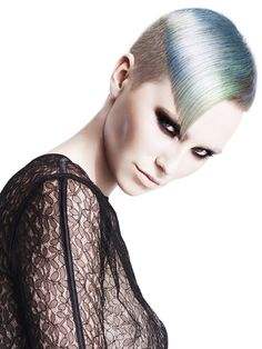 Hair: Issie Churcher @HOB Salons Photography: John Rawson Make-up: Lan Nguyen - Grealis Stylist: Ozzy Shah