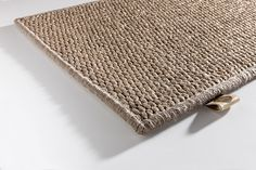 'Ipanema - Shitake' by Limited Edition. Ipanema is a sisal carpet. | www.le.be | Collection 2015 #bespoke #rugs #carpets #madeinbelgium