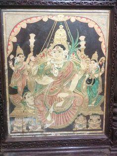 Rajarajeshwari. Mysore style. 19th century.
