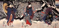 Kuniyoshi Utagawa, Women #Utagawa