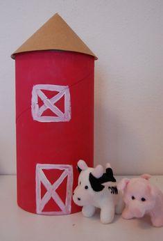 Oatmeal box silo