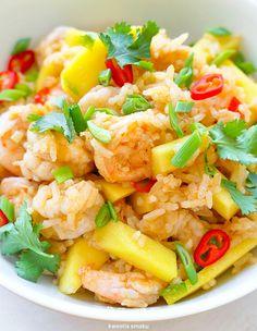 Health Eating, Pasta Salad, Potato Salad, Cauliflower, Nom Nom, Main Dishes, Mango, Meals, Vegetables