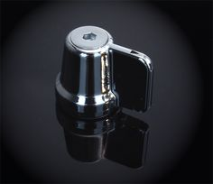 Show Chrome Accessories (Big Bike Parts) Chrome Fuel Shutoff Knob