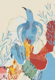 Blue Bird Fresco