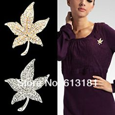 2013 Free shipping Canadian Maple Leaf Brooch Pins For Women Fashion 18K Gold Jewelry Alloy Rhinestone Brooches Price: US $5.18 / piece Bulk Price Shipping: Free ShippingtoJapan via China Post Air Mail Delivery: 15-34 days (ships out within 4 days)
