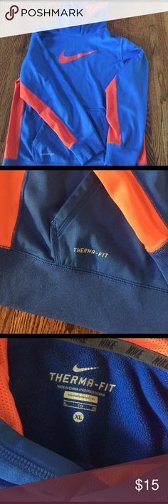 Nike Thermafit Sweatshirt Worn once, like new. Super smooth fabric. Nike Shirts & Tops Sweatshirts & Hoodies