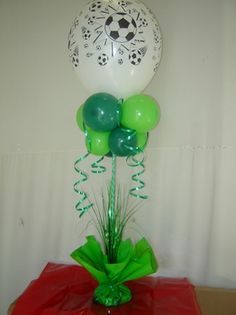 13004balloons - Colour Co-ordination , Bouquets & Gifts, Printing Service, Filling Service, Balloon Accessories, Bulk Balloons Soccer Birthday Parties, Baby Boy Birthday, Birthday Party Themes, Balloon Centerpieces, Balloon Decorations, Barcelona Soccer Party, Bulk Balloons, Soccer Baby Showers, Soccer Banquet
