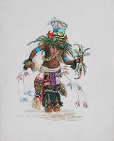 """""""Homahtoi"""" THOMAS, OTIS (1925-1985) kK"""