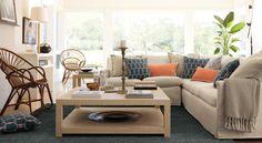 Shop by room: Living Room - Designer Rooms   Serena & Lily