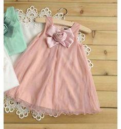 Me & Too Dress - Pink Ribbon - sadinashop.com  Dress atau gaun untuk bayi dan anak.