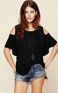 this top from free people goes easily from day to night