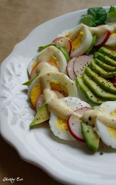 sałatka wielkanocna / easter salad with egg