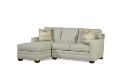 Huntington House 2053 Sectional Shown In Crypton Home Fabric Prettysmart Homes