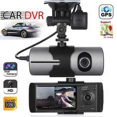 Dual Lens GPS Camera HD Car DVR Dash Cam Video Recorder G-Sensor w/ Night Vision https://qdiz.com/?p=2873