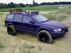 Lifted Volvo XC70