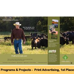 Congrats to the Ag Agency (Marketing and Communications Dept. of Farm Credit Bank of Texas) on being recognized with first place in the Print Advertising category of the 2015 Cooperative Communicators Association (CCA) Communications Contest!