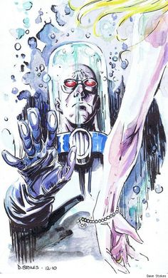Mr. Freeze by Dave Stokes