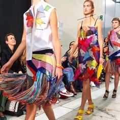 Christopher Kane SS'16. From the Style Tribe: Party Girls.
