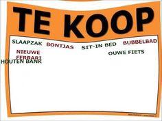 """""""Te Koop"""" - Elisa Verdo"""