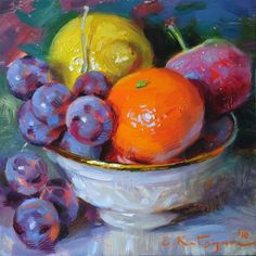 DPW Fine Art Friendly Auctions - Bright Fruit by Elena Katsyura