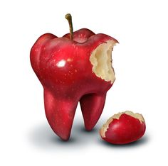 Did you know apples can scrub your teeth and naturally remove plaque and stains? #dentistry