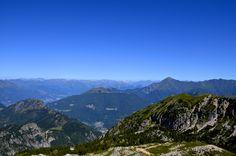 Grigna Settentrionale, Lecco #grigna #lecco #sky #blue #mountain #nature #green #landscape #panorama #paesaggio #prealpi