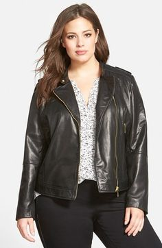 Free shipping and returns on Bernardo Asymmetrical Zip Leather Moto Jacket (Plus Size) at Nordstrom.com. Vintage details—including epaulets, channel-quilted panels and adjustable snap-tabs at the sides—lend an air of authenticity to a moto jacket cut from soft leather.