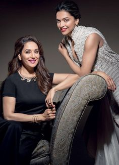 Madhuri Dixit and Deepika Padukone Bollywood Heroine, Indian Bollywood Actress, Bollywood Fashion, Indian Actresses, Actors & Actresses, Deepika Ranveer, Deepika Padukone Style, Deeps, Dipika Padukone