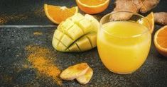 A combination of all things yummy – this smoothie consists of a combination of tropical fruit and beneficial spices. Baobab Powder, Frozen Pineapple, Orange Peel, Superfoods, Turmeric, Home Remedies, Detox, Mango, Good Food