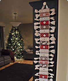 Adventskalender | Toilettenpapierrollen