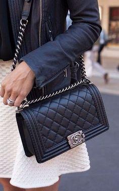 Легендарная стеганая сумка от Шанель. 5