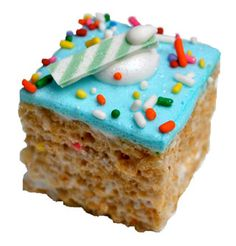 Treat House- NYC- spiffed up versions of rice krispie treats!