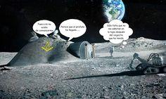 """Buenas noches, queridísimos friki-fans: Hoy traemos un nuevo disparate al Museum, que esperamos os haga pasar un rato divertido a tod@s. ¡Tenemos hasta una Logia en la Luna! Lo mejor es que dicha logia se puede ver en Google """"Earth""""...... He aquí el delirio..."""