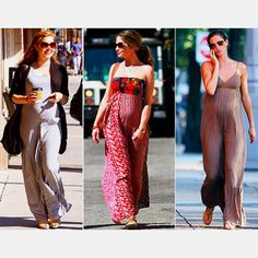Maxi dresses will be my go to outfit this summer, being pregnant and all