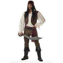 Fantasia Pirata Jack Sparrow Pronta Entrega