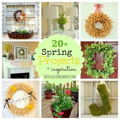 20+ Spring projects inspiration