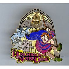 disney hunchback of notre dame pin but I want the gargoyles as a tattoo.