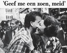Tijdens een verrassingsbezoek aan Amsterdam in 1988 werd Beatrix gekust door een man. Het incident zou de geschiedenis ingaan als 'de zoen van Amsterdam'.